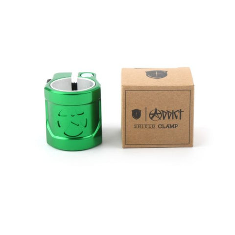 Addict Shield Clamp - Green