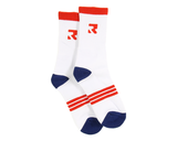 Root Industries - Three Stripes Socks - White