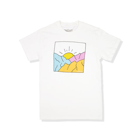 Outset Sunset Tee