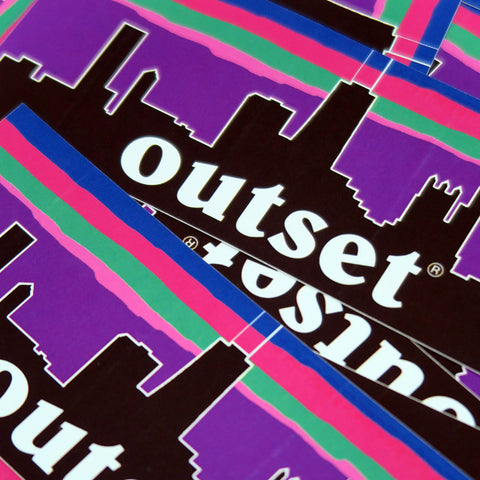 Outset Nightscape Sticker