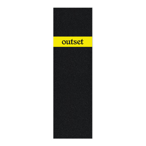 Outset Stripe Griptape - Yellow