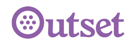 Outset Die Cut Sticker - Purple