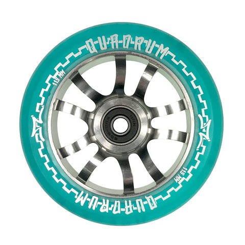 AO Quadrum 115mm x 24mm Wheels - Blue