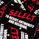 Outset Resist Sticker