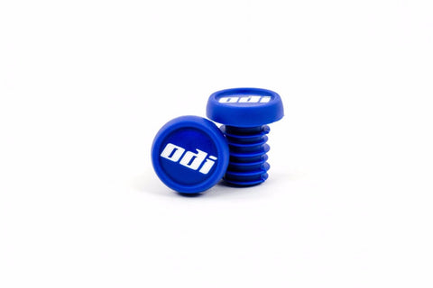 ODI Plastic Bar Ends - Blue