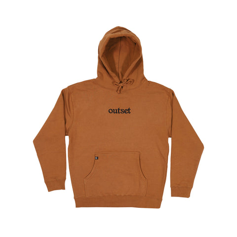 Outset Basic Hoodie - Saddle