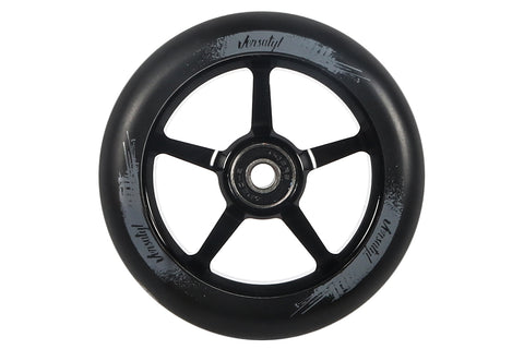 Versatyl 110mm Wheels - Black