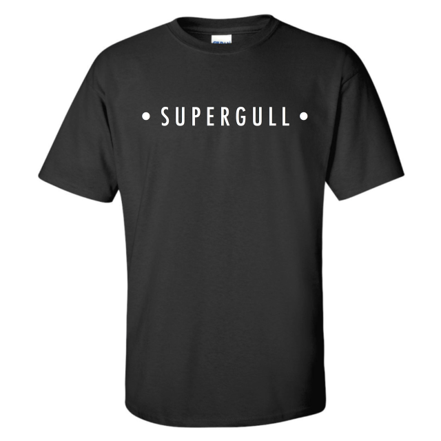Gull Logo Tee - Black & White