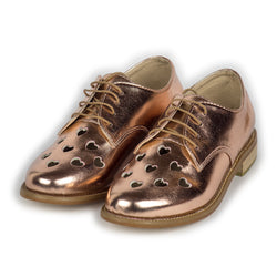Cut Out Hearts Brogues
