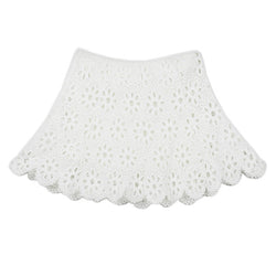 Desire Lace Skirt (Ivory)
