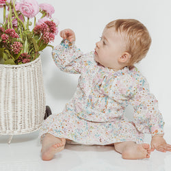 Naples Floral Mini Dress Baby