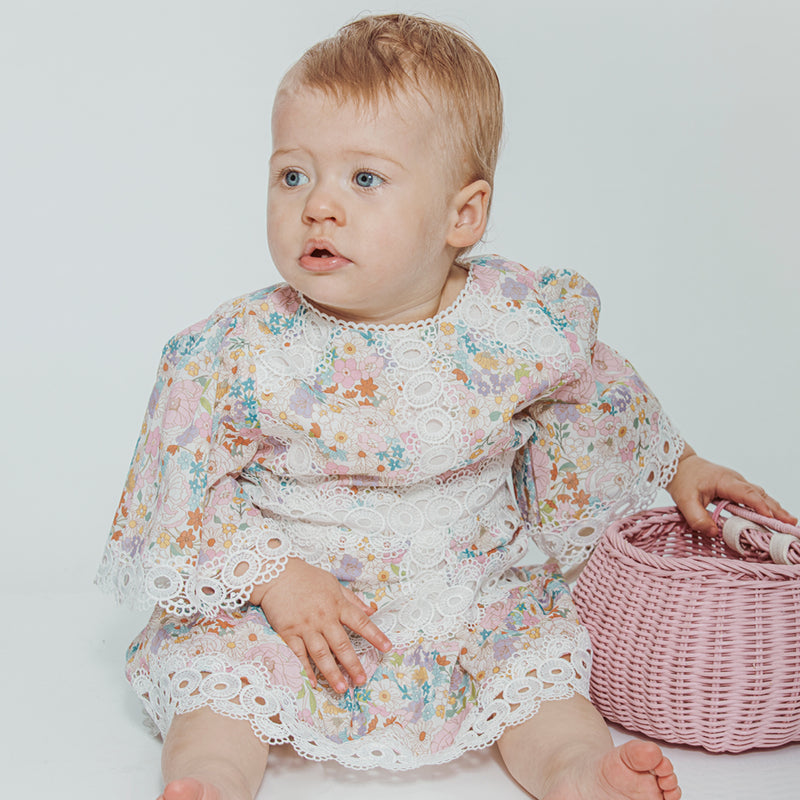 Puglia Floral Dress Baby