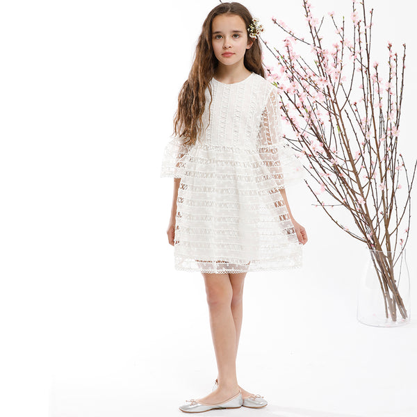 CHLOE DRESS (IVORY)