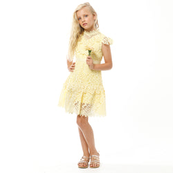 POPPY DRESS (LEMON)