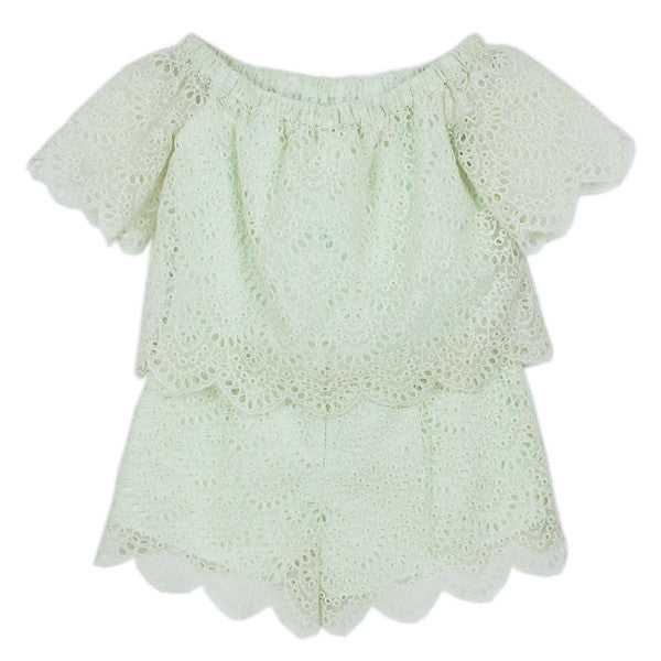 Dusk Playsuit (Mint)