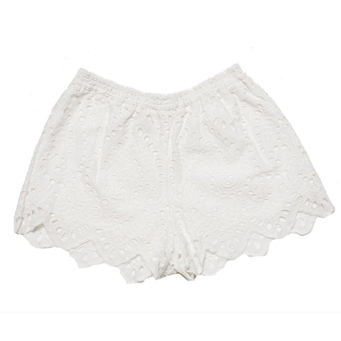Baby's Breath Cotton Shorts