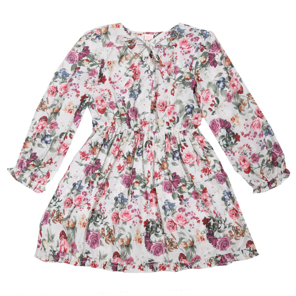 The Estel Floral Cotton Dress