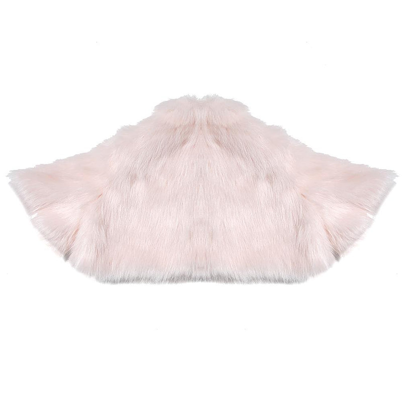 Fur Cover Up (Soft Pink)