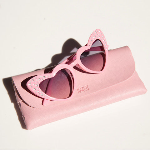 Heart Sunglasses (Pink)