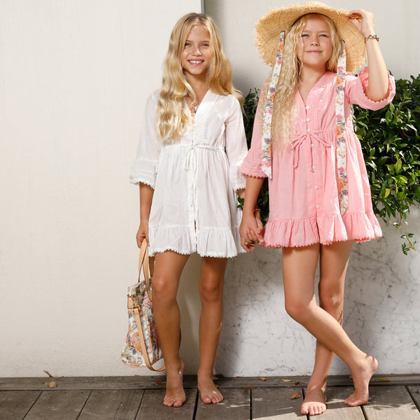 BEACH DAY DRESS (PINK)