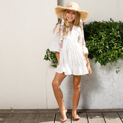 BEACH DAY DRESS (IVORY)