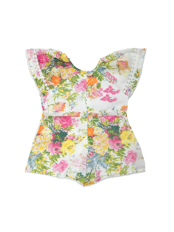 Tuscany Floral Romper Baby