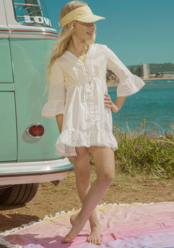 Capri Beach Dress (Ivory)