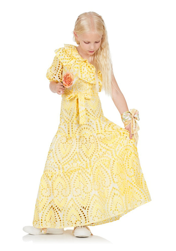 Portofino Maxi Dress (Lemon)