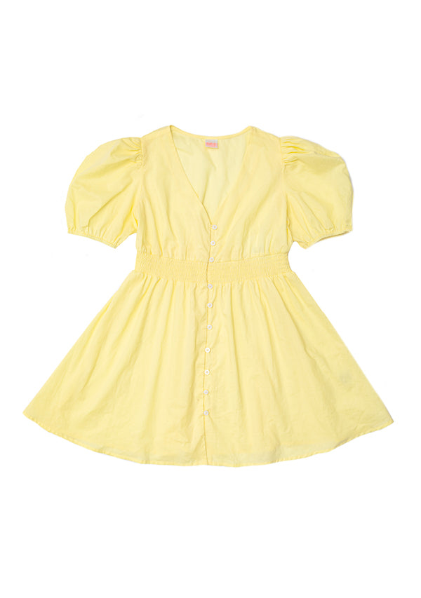 Naples Beach Dress (Lemon)