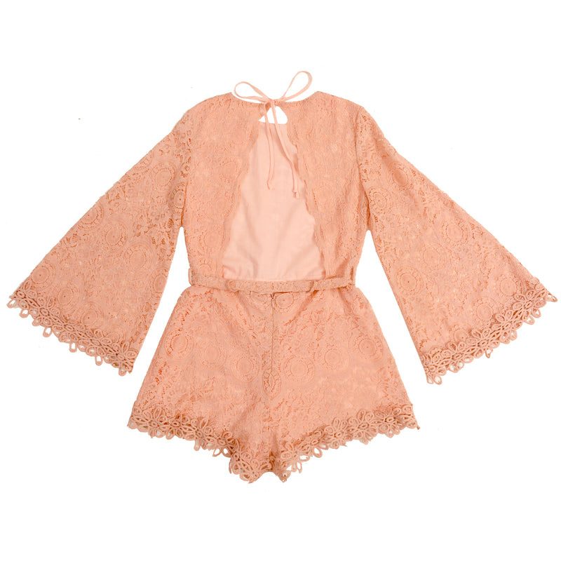 Whimsical Lace Romper