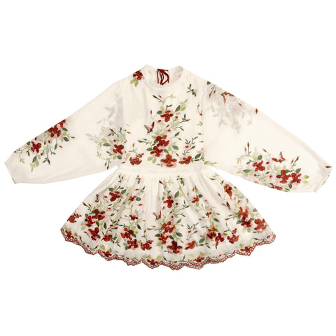 The Floral Embroidered Dress