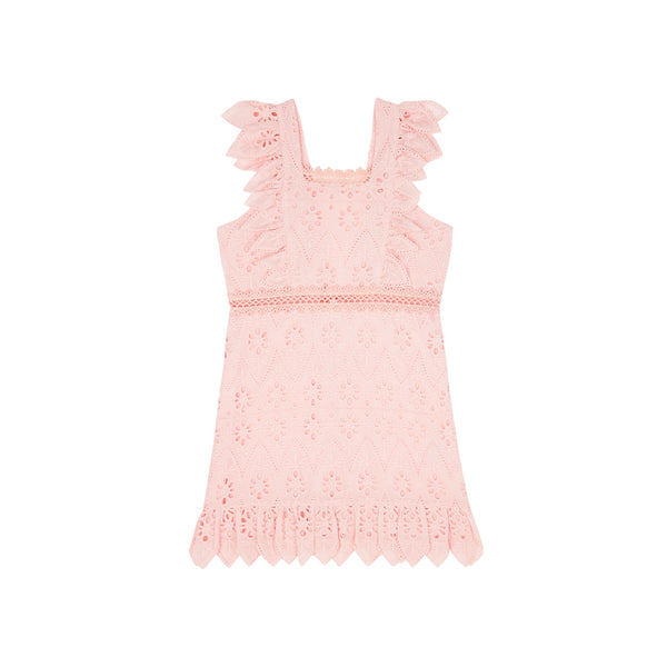 NEVE COTTON DRESS (DUSTY PINK)