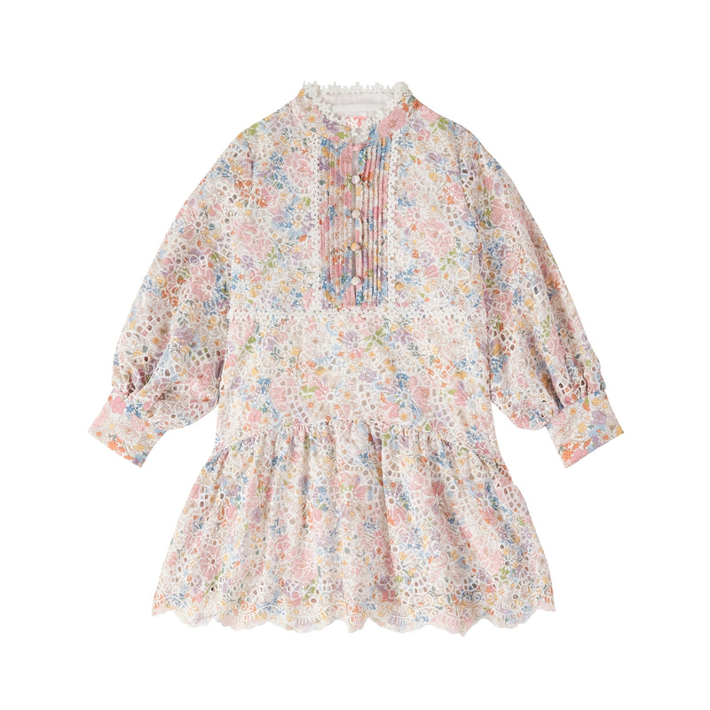 Naples Floral Mini Dress