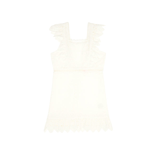 NEVE COTTON DRESS (IVORY)
