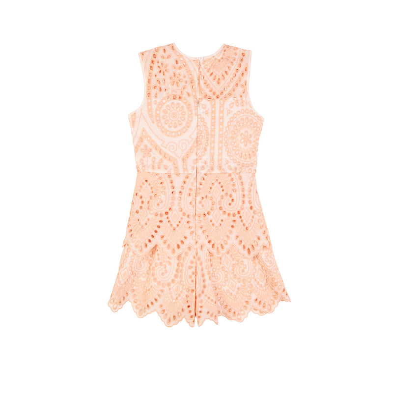 DAY DREAMING ROMPER (PEACH)