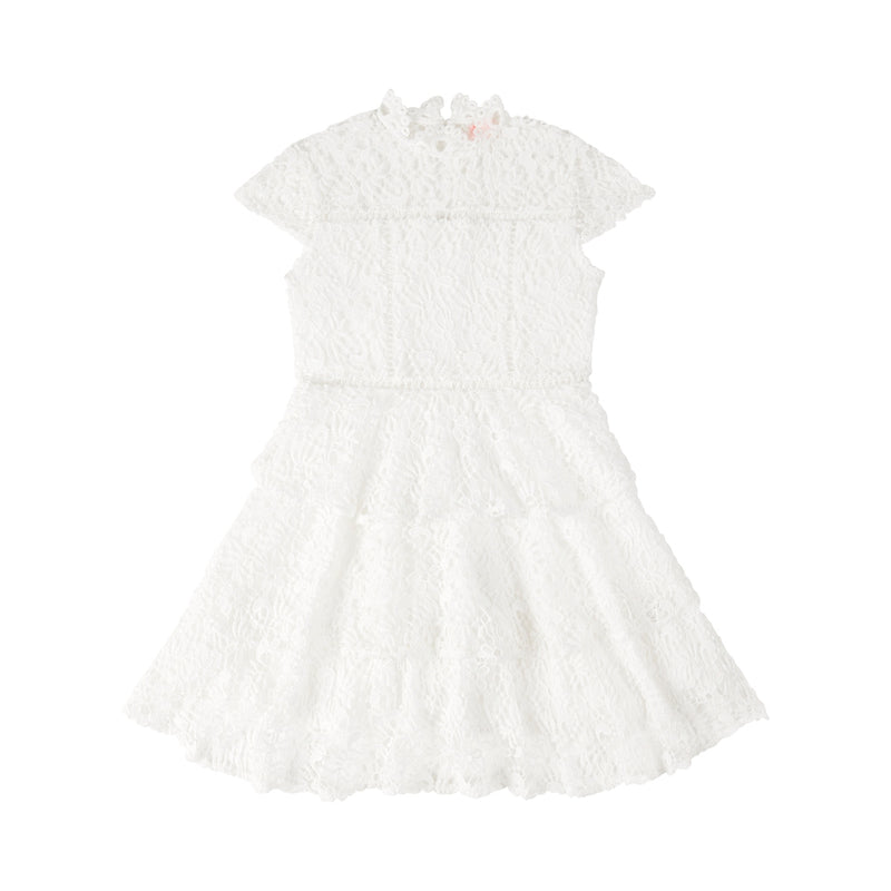 New Desire Floral Dress (Ivory)