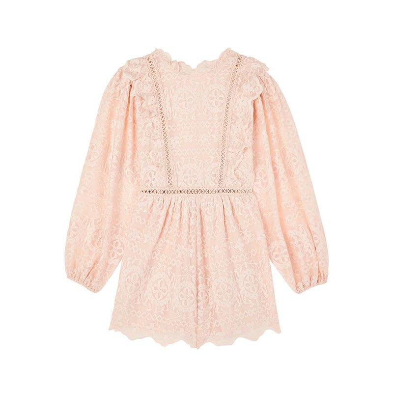 Willow Lace Romper Marlo Kids