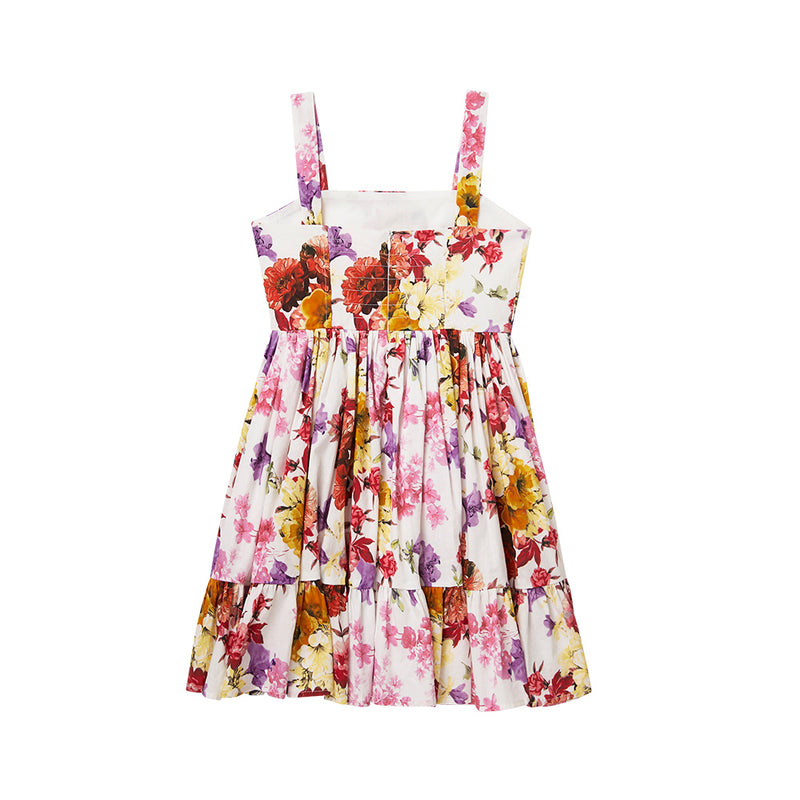 JOY & LOVE FLORAL DRESS