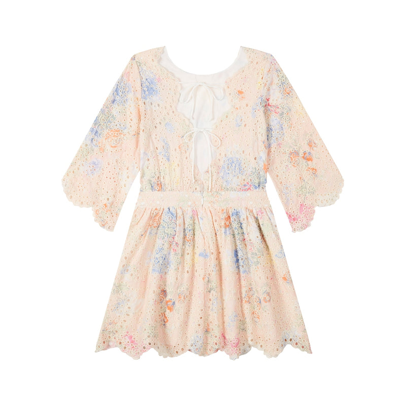 Sophia Embroidered Dress
