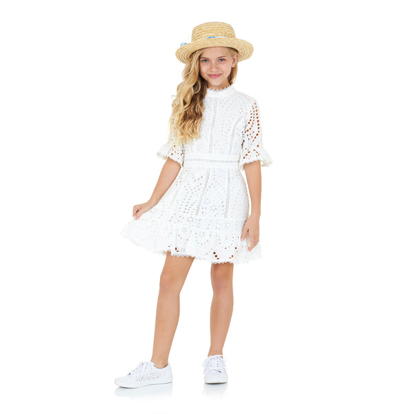 Nanette Embroidered Dress Marlo Kids