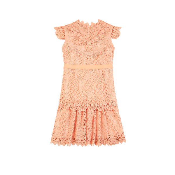 POPPY DRESS (PEACH)