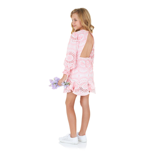 Penelope Embroidered Dress Marlo Kids