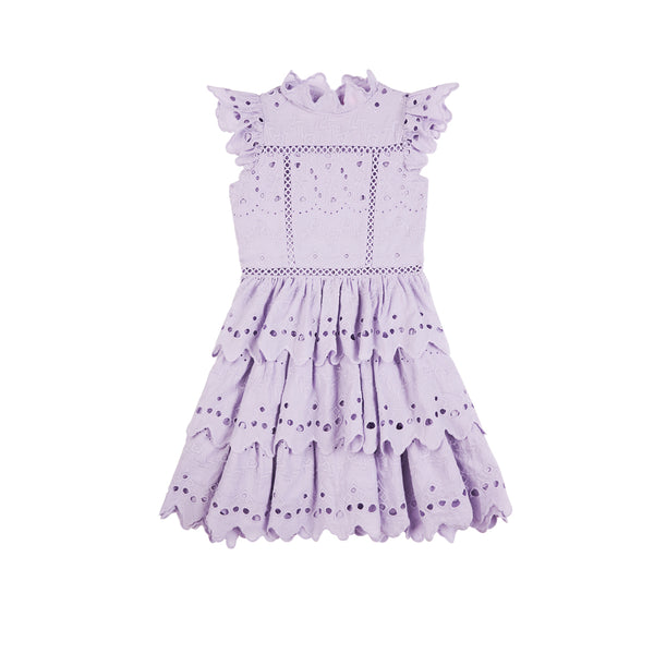 AVA MINI DRESS (LAVENDER)