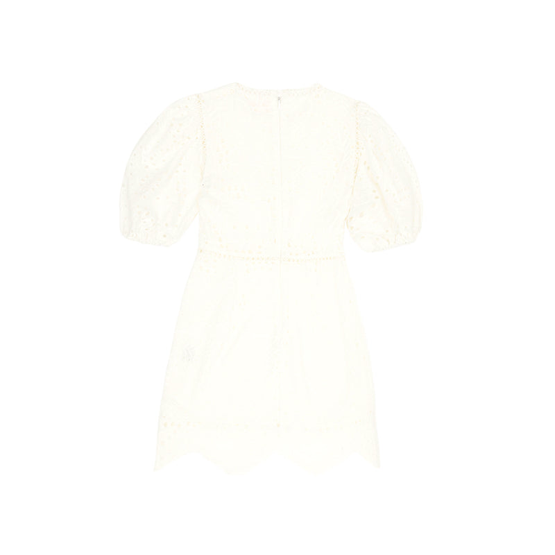 BILLA COTTON DRESS (IVORY)