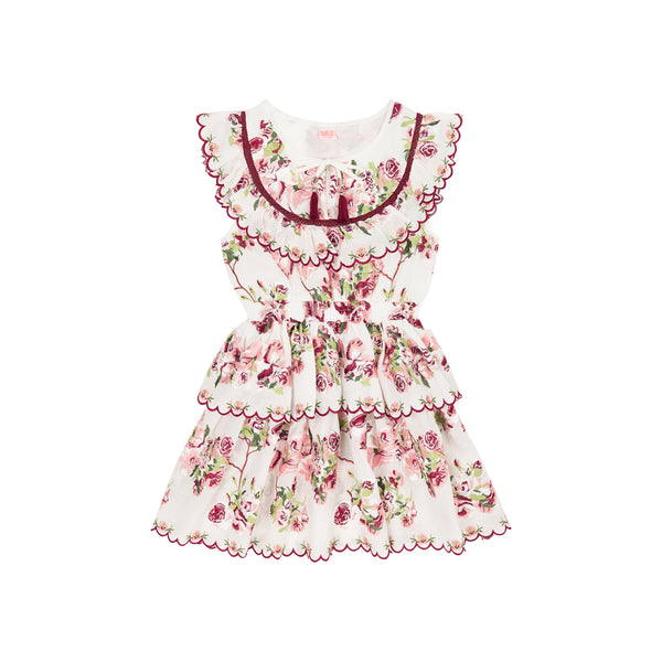 ASHLEY FLORAL DRESS