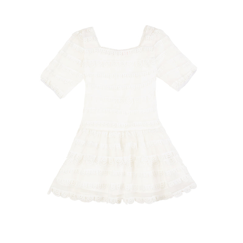 LUELLA DRESS (IVORY)