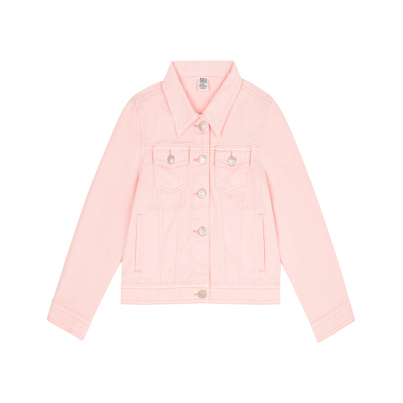DENIM JACKET (DUSTY PINK)