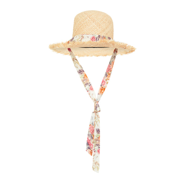 SALT WATER STRAW HAT