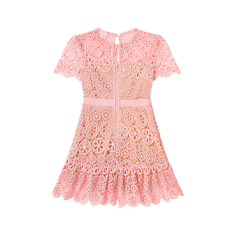MONTARNA LACE DRESS (PINK)