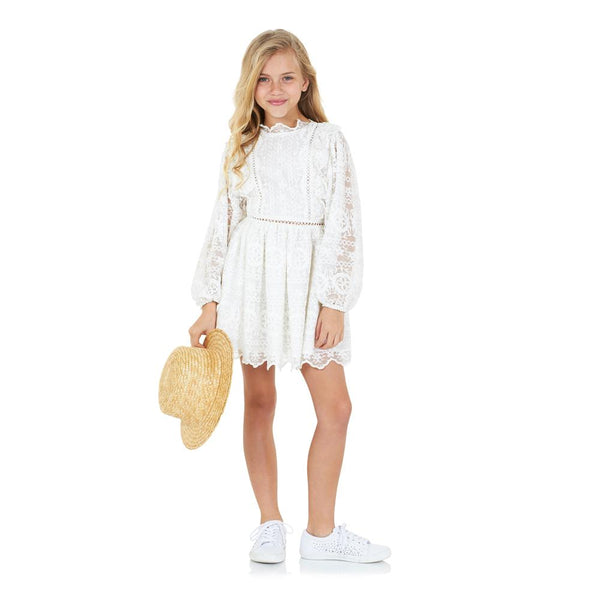 Willow Lace Dress Marlo Kids